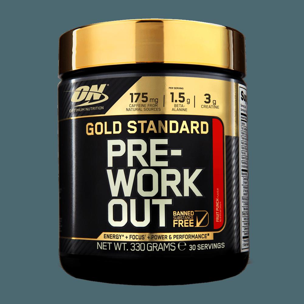 Optimum Nutrition Gold Standard Pre-Workou 330 g ružová limonáda