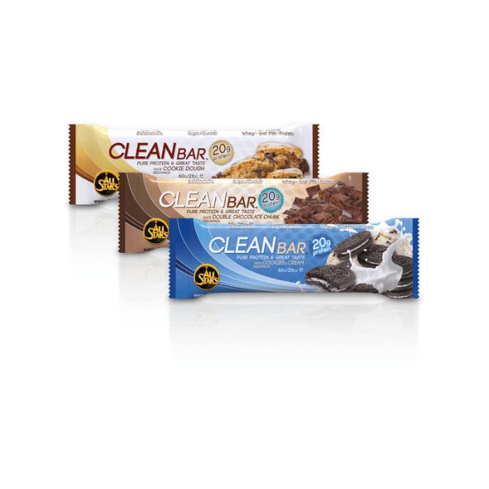 All Stars Clean Bar 60 g cookies & krém