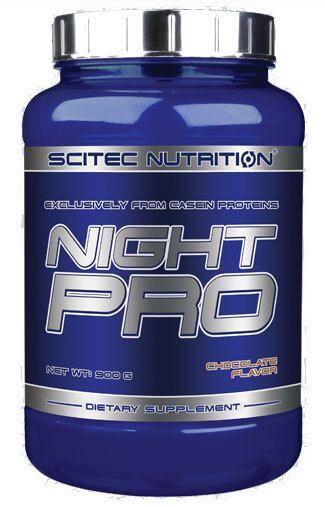 Scitec Nutrition Night Pro 900 g strawberry