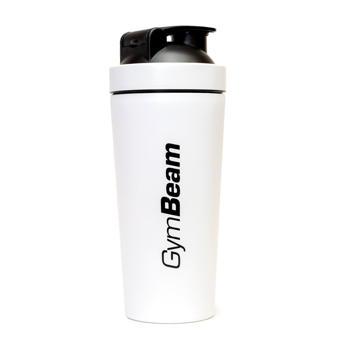 GymBeam Šejker Steel White 750 ml