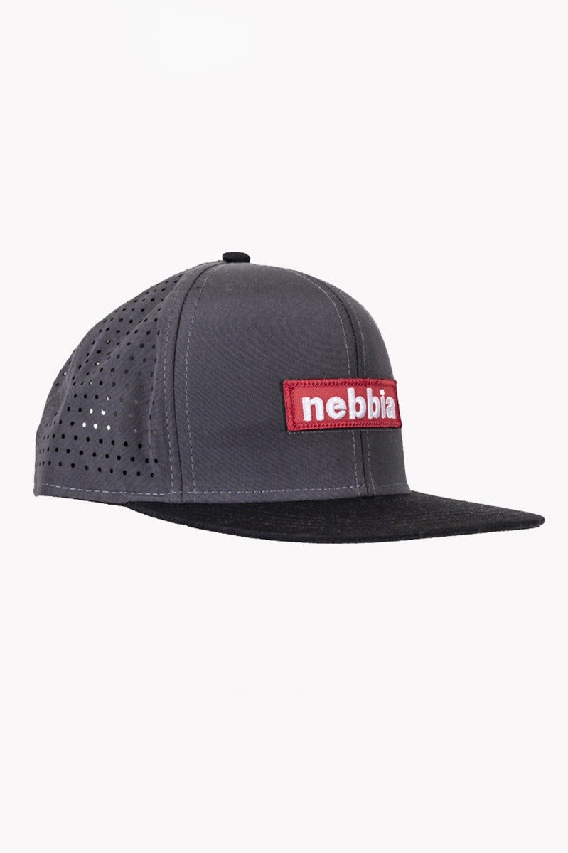 Nebbia Red Label šiltovka SNAP BACK 163 šedá
