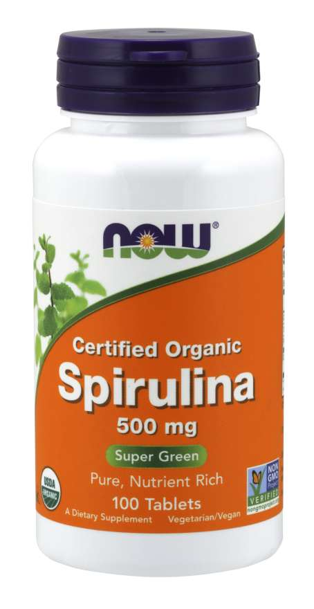 NOW Foods Spirulina 500 mg 200 tab.