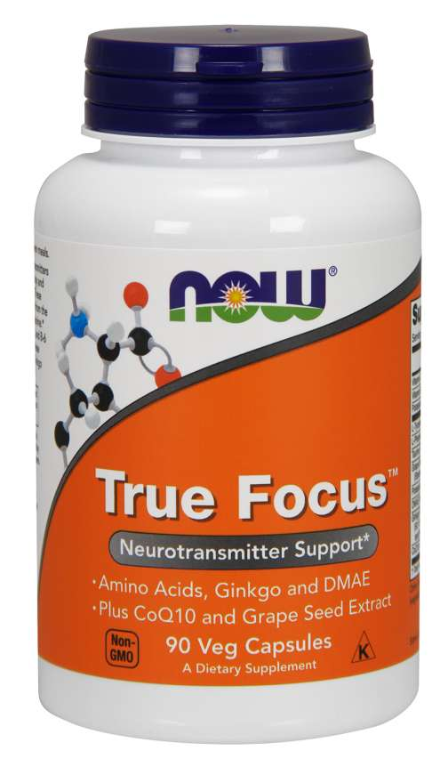 NOW Foods True Focus™ 90 kapsúl
