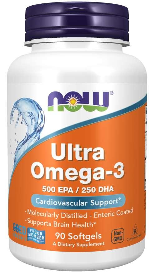 NOW Foods Ultra Omega-3 90 kapsúl