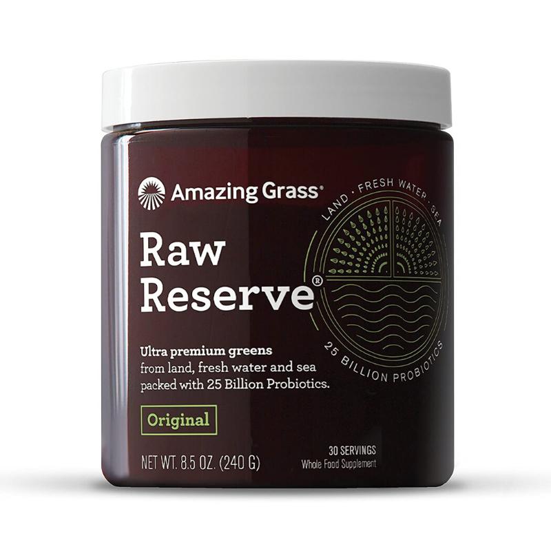 Amazing Grass Mix superpotravín Raw Reserve 240 g originál