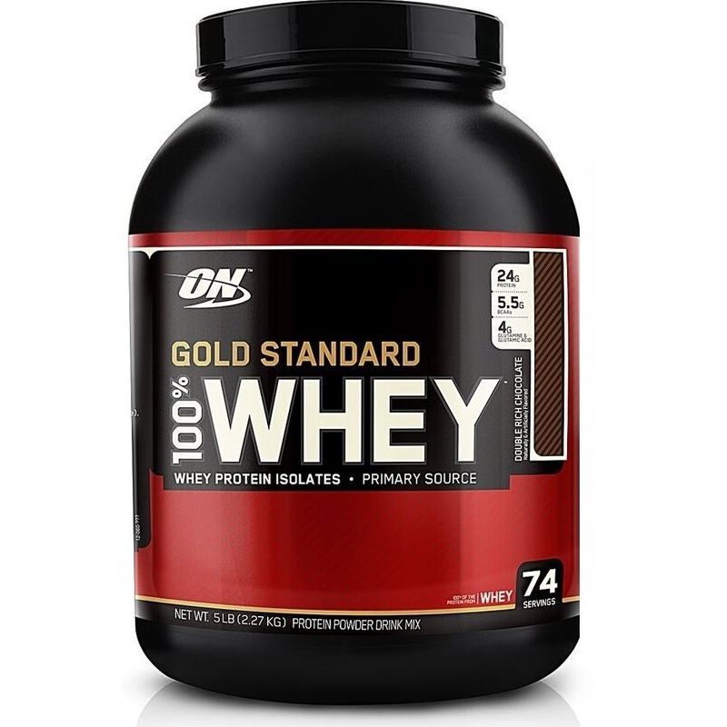 Optimum Nutrition 100 Whey Gold Standard 2270 g biela čokoláda malina