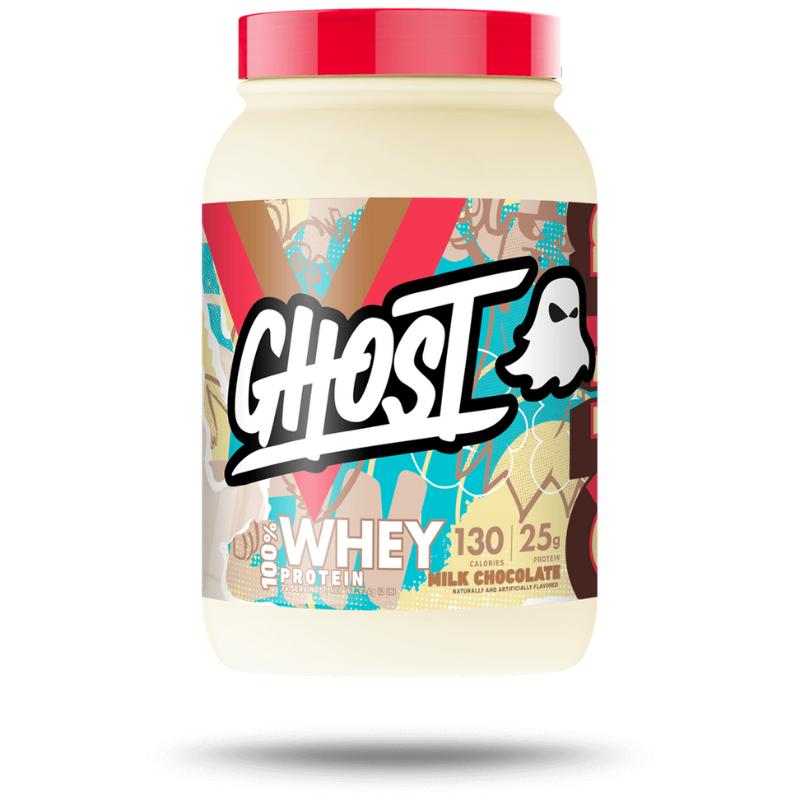 Ghost Protein Whey 910 g mliečna čokoláda