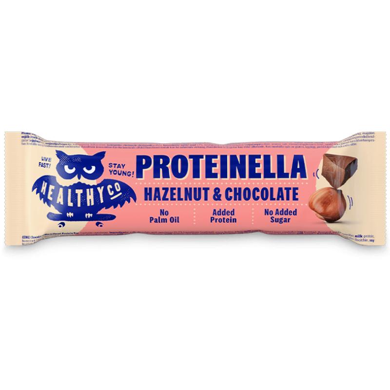 HealthyCo Proteinella bar 35 g biela čokoláda