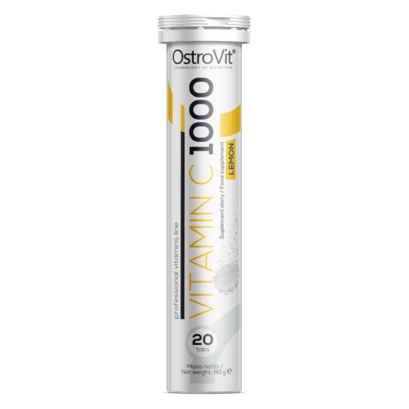 OstroVit Vitamin C 1000 20 tab citrón
