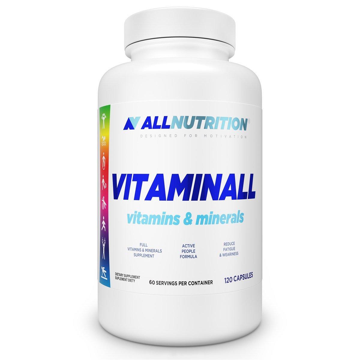 All Nutrition Vitaminall 120 kaps fudge brownie