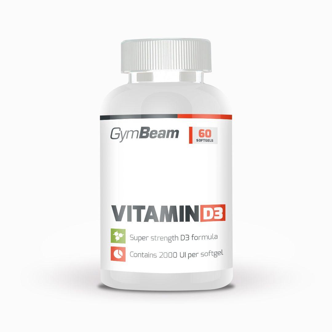 Vitamín D3 2000 IU - GymBeam   GymBeam.sk
