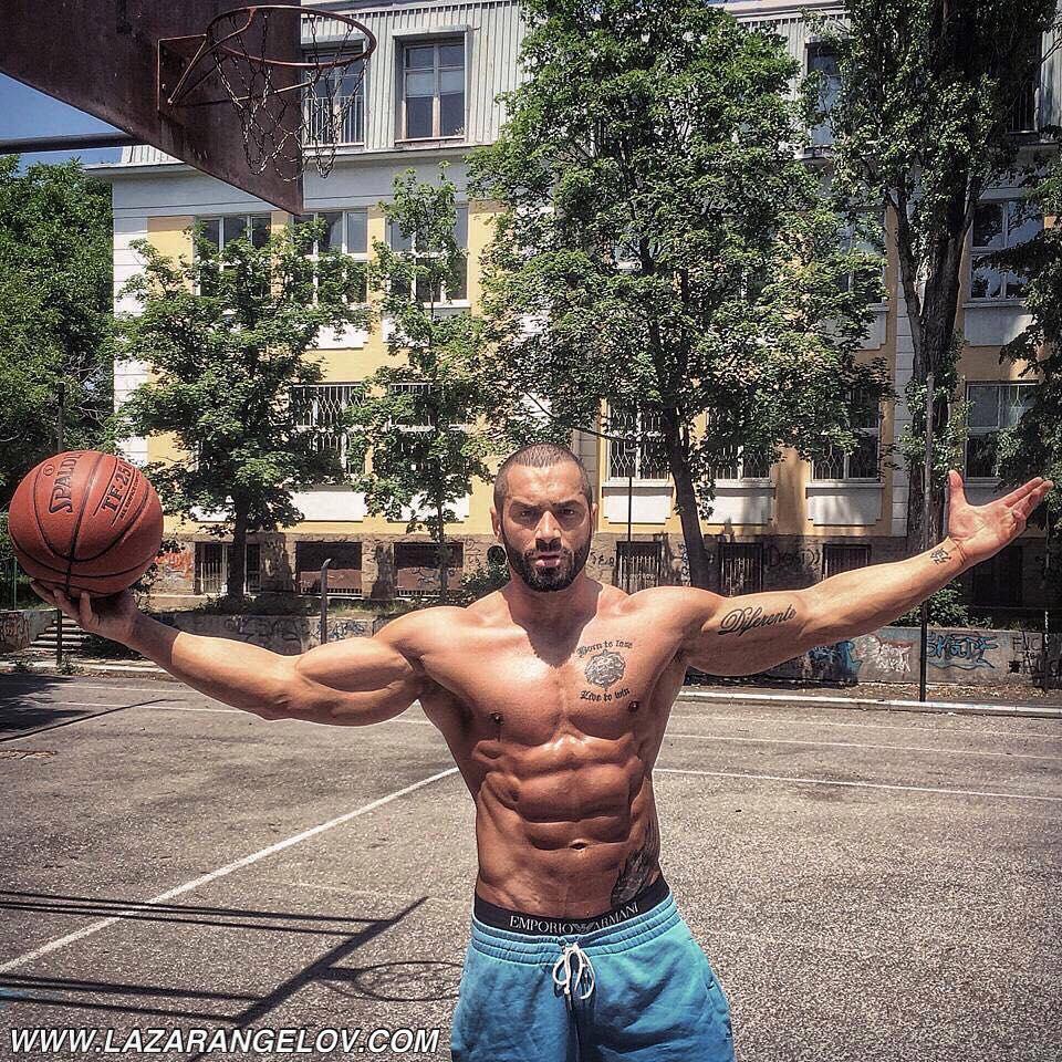 Lazar Angelov tréning