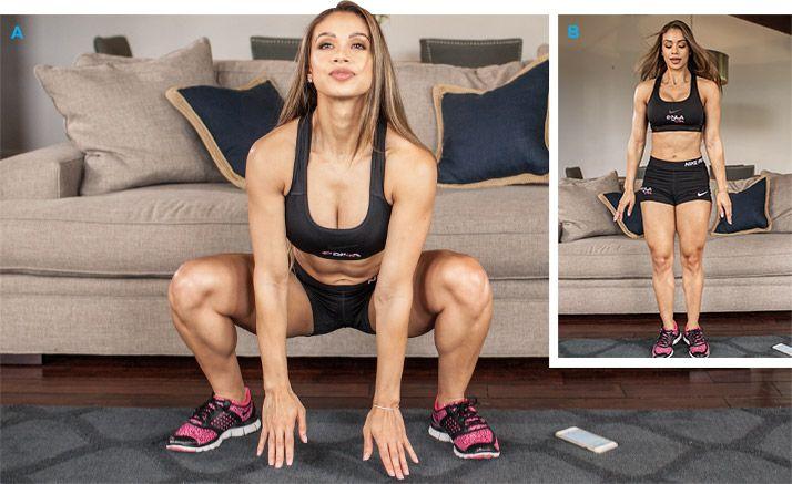 Pop drep cvičenie na doma chudnutie