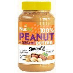 100% Peanut + Sesame Butter