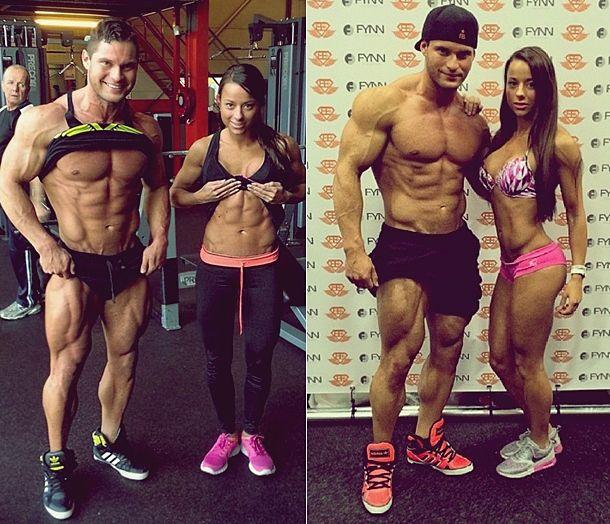 Sandra a Tavi fitness par strava a tréningový plán