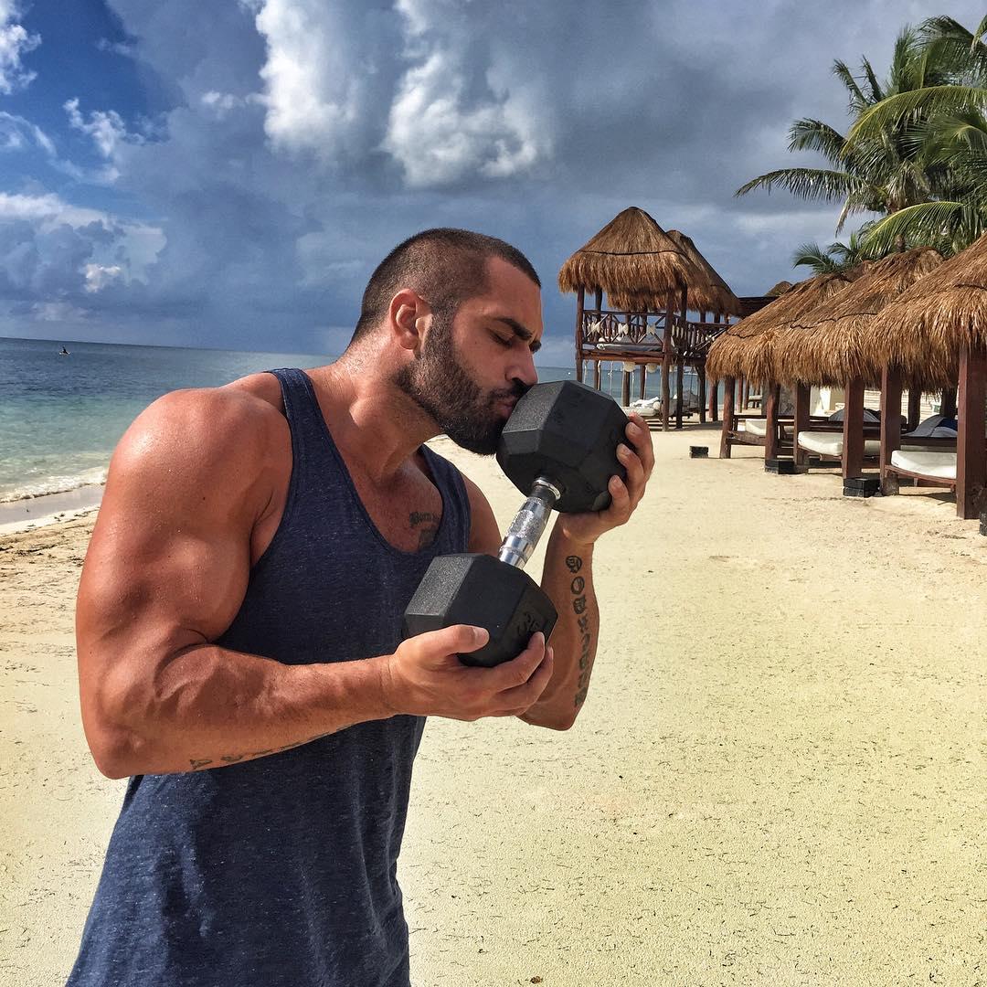 Lazar Angelov jeho tréning a strava