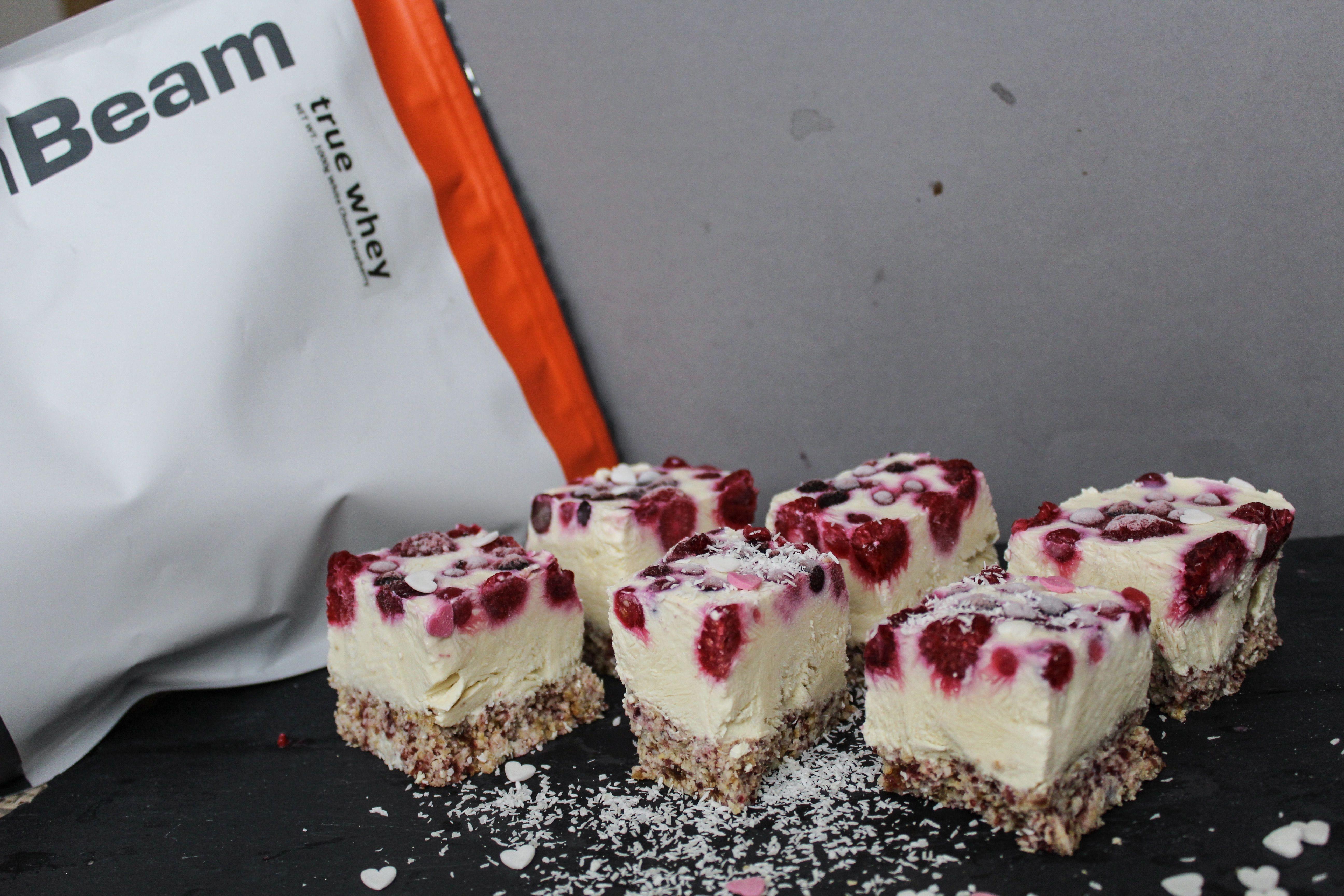 Tofu proteínový cheesecake - fitness recept