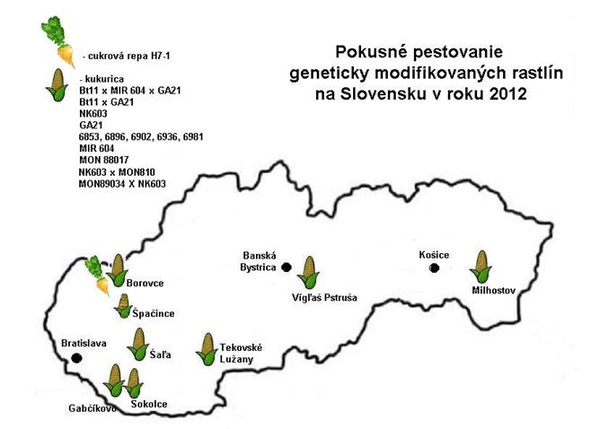 gmo na Slovensku