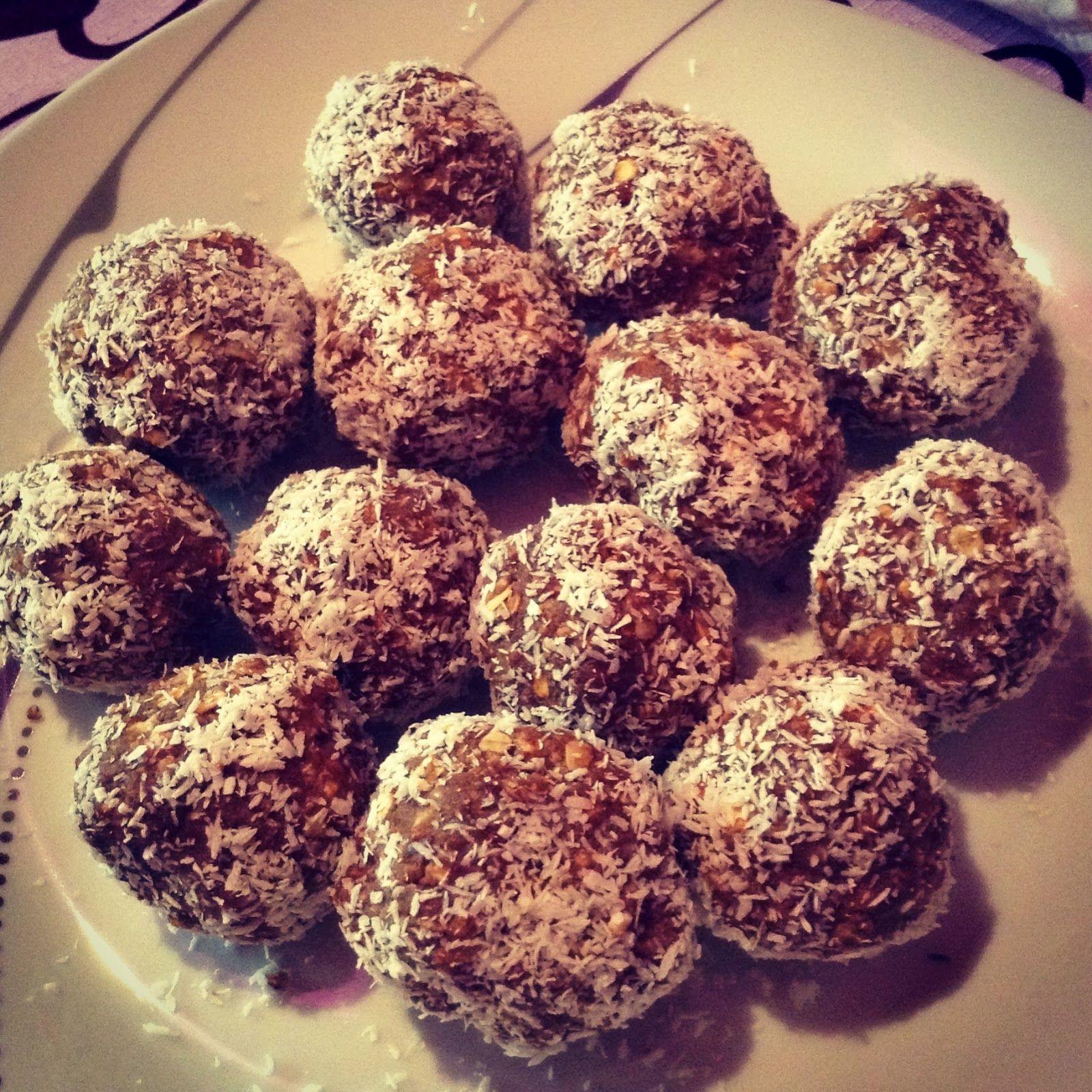 čokoládové guľôčky