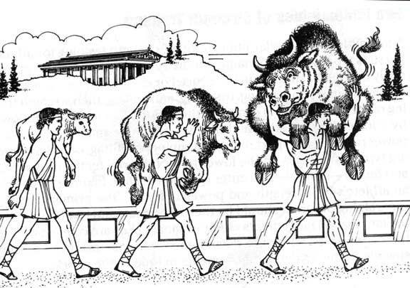 Milo z Crotonu - ako nabrať silu