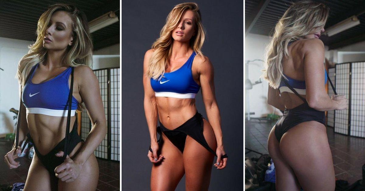 Paige Hathaway fitness modell, edzésterv és étrend