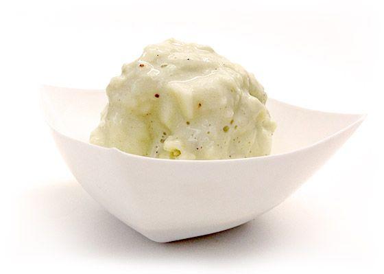 Zmrzlina s príchuťou vaječného koňaku
