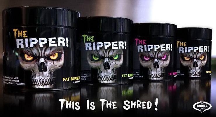the ripper cobra labs spaľovač tukov extrémne silný