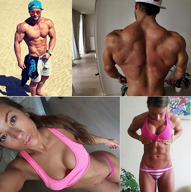 Sandra Prikker a Tavi Castro fitness strava a tréningový plán