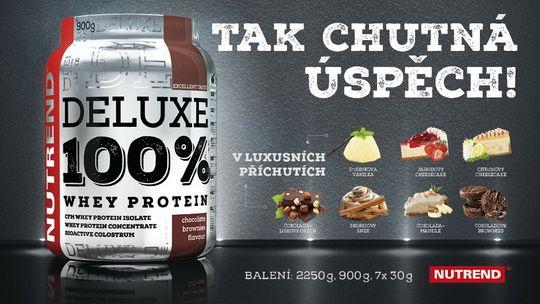 Deluxe 100% Whey Protein