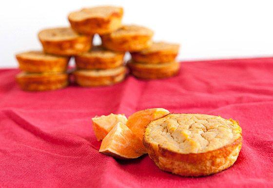 Muffiny z banánového chleba so sladkými zemiakmi