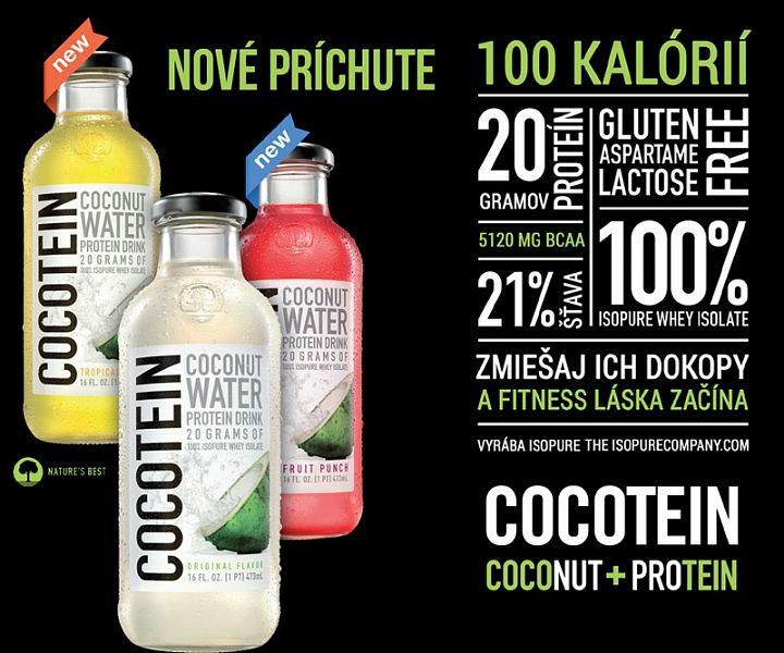 cocotein proteínový nápoj