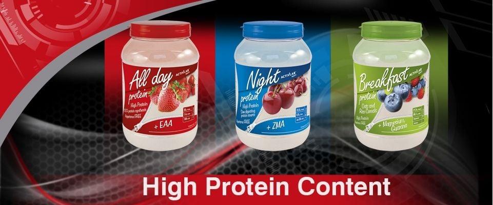 protein breakfast na raňajky