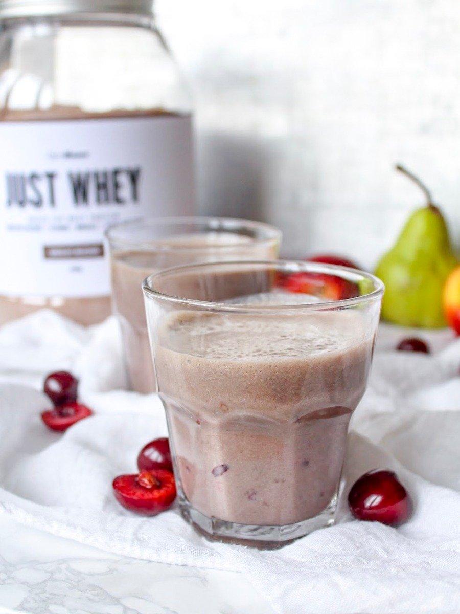 Třešňovo-čokoládové smoothie  - fitness recept