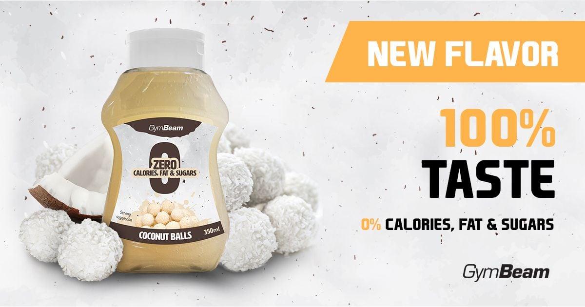 Bezkalorický sirup Coconut Balls 350 ml