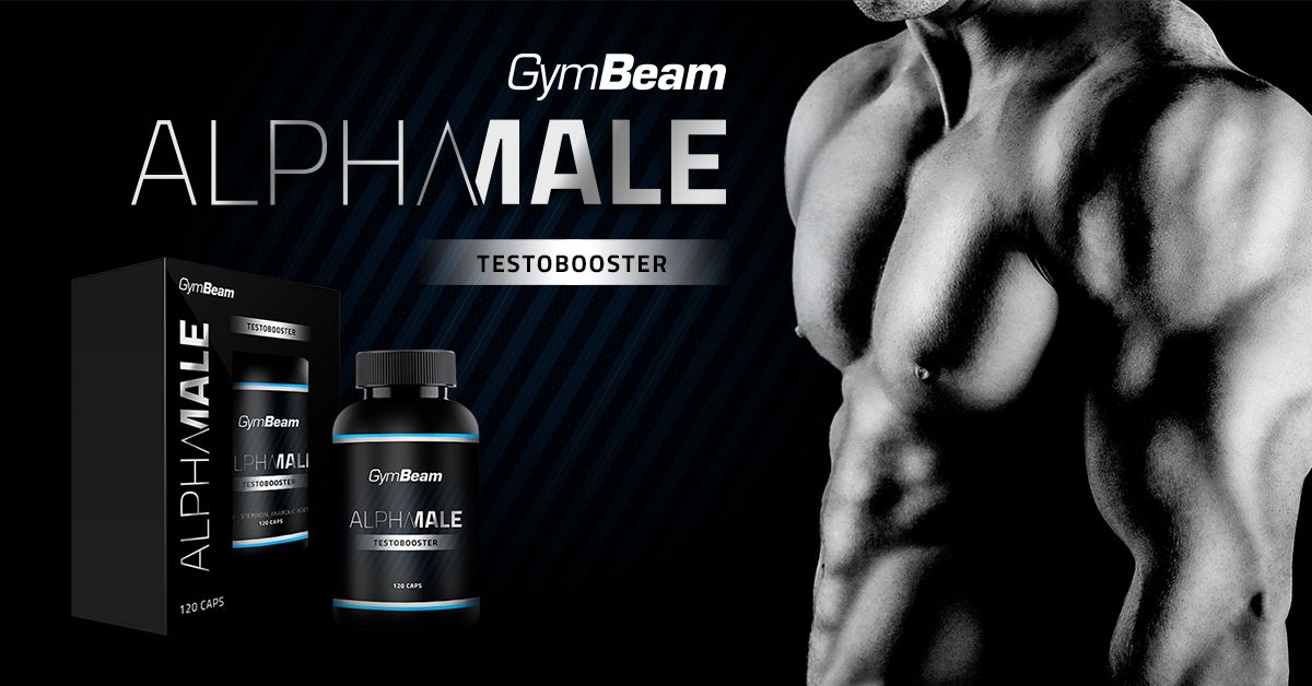 AlphaMale TestoBooster - gymbeam