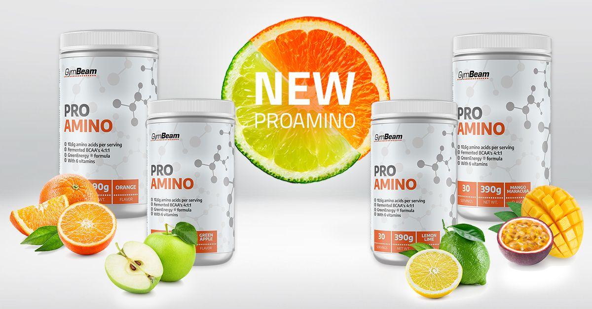 Pro AMI.NO - aminokyseliny - gymbeam