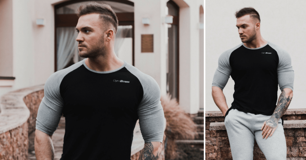 Tričko Fitted Sleeve GymBeam