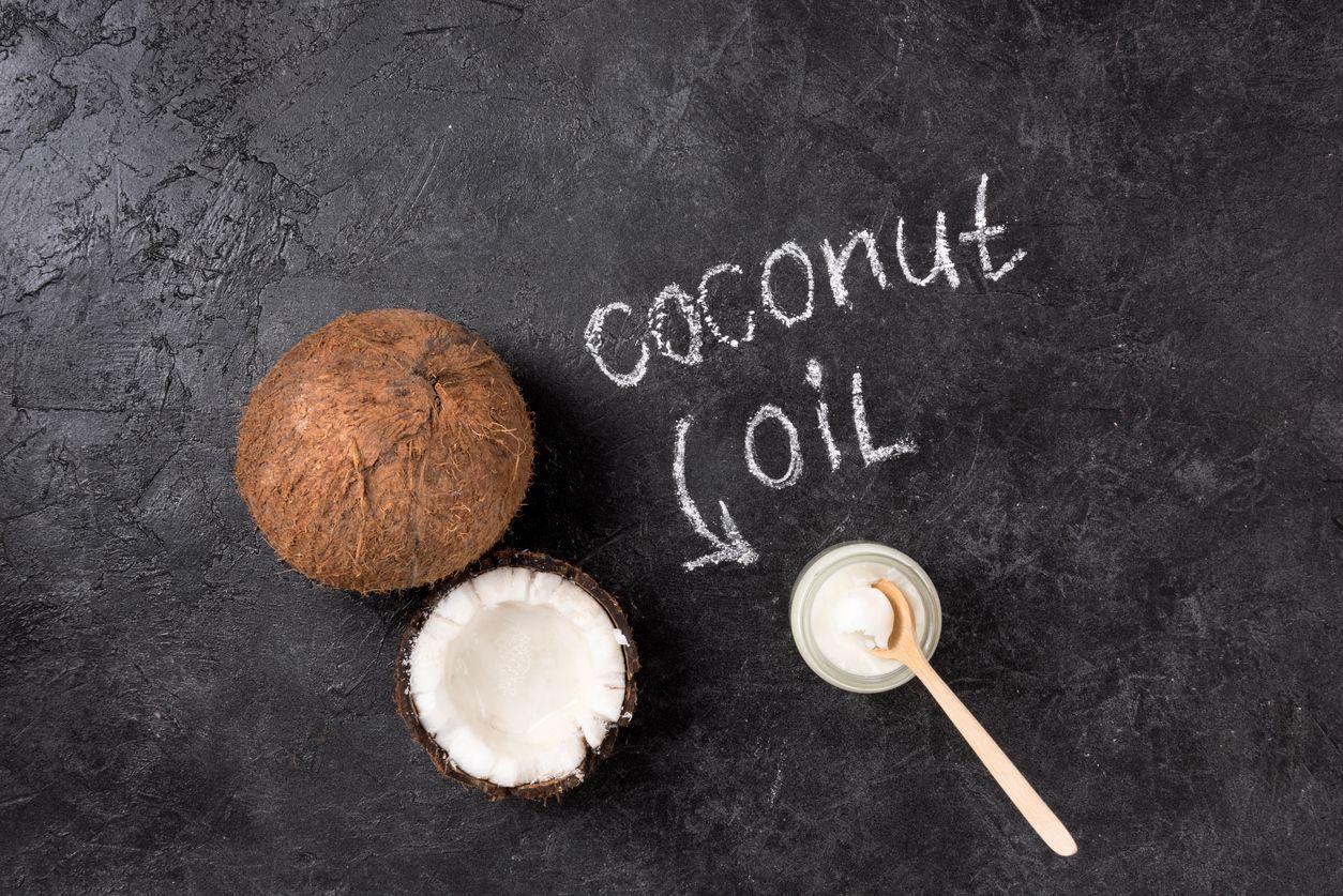 Kokosovo uleje - eksperiment