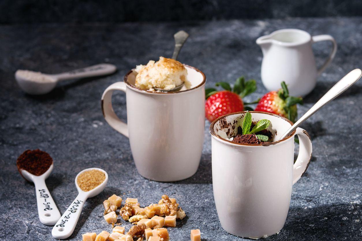 Protein Mug Cake Mix 500 g - GymBeam