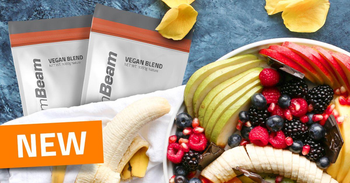 Proteín Vegan Blend - GymBeam