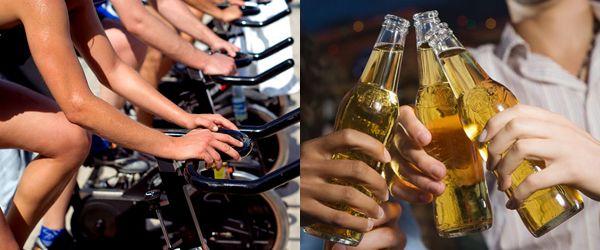ako vplýva alkohol na chudnutie, regeneráciu a rast svalov