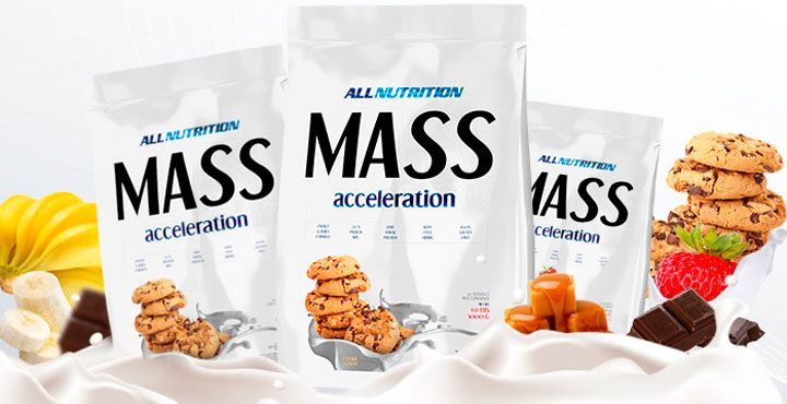 Mass Acceleration sacharidy all nutrition