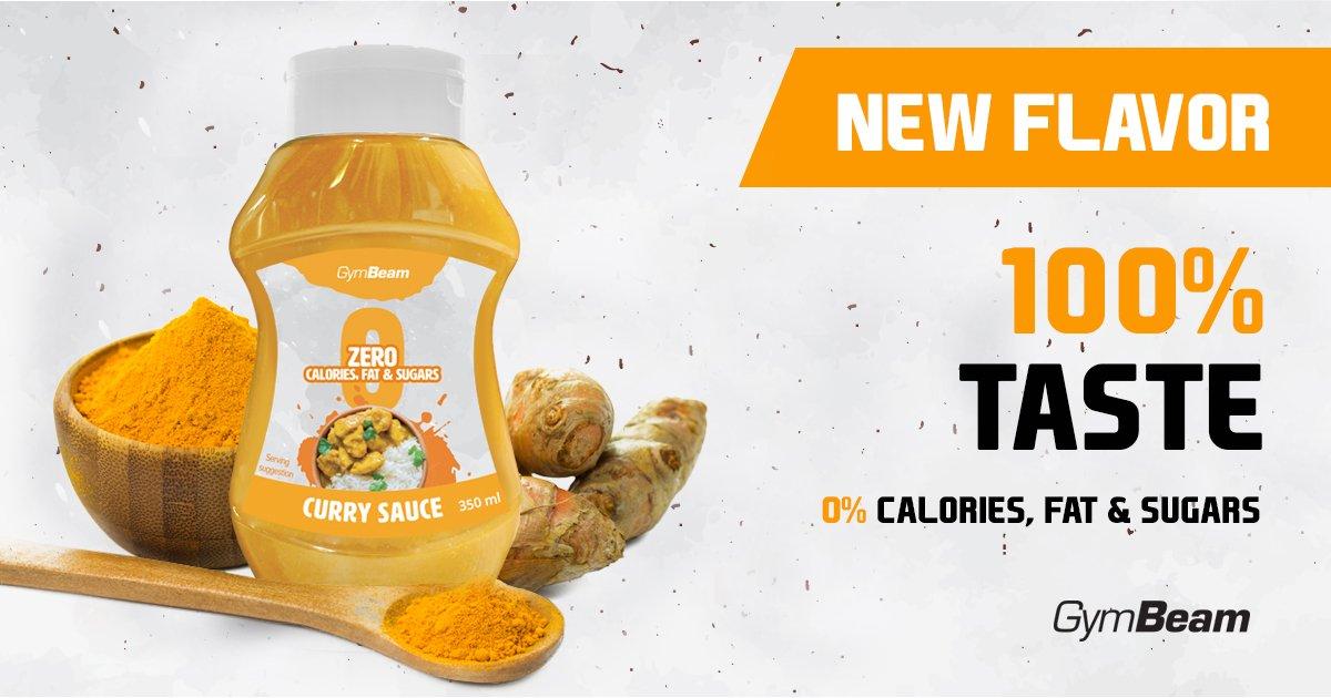 Bezkalorická omáčka Curry Sauce 350 ml - GymBeam