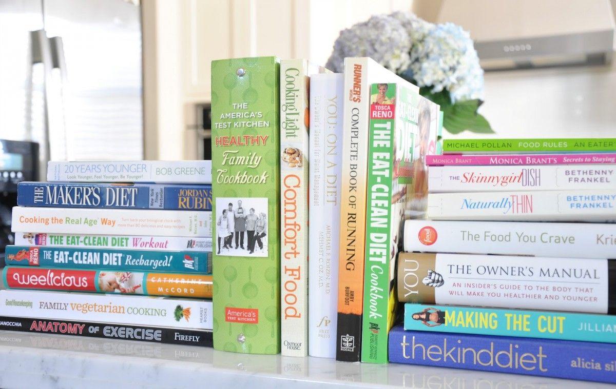 fitness knihy - tipy na darčeky vianočné