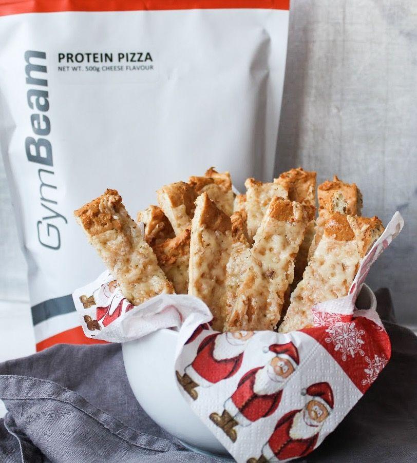 proteínové pizza tyčinky - vianočné pečivo fitness