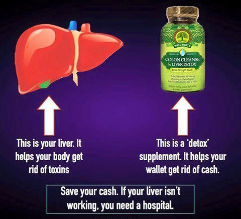 detoxikácia - stačí vám pečeň