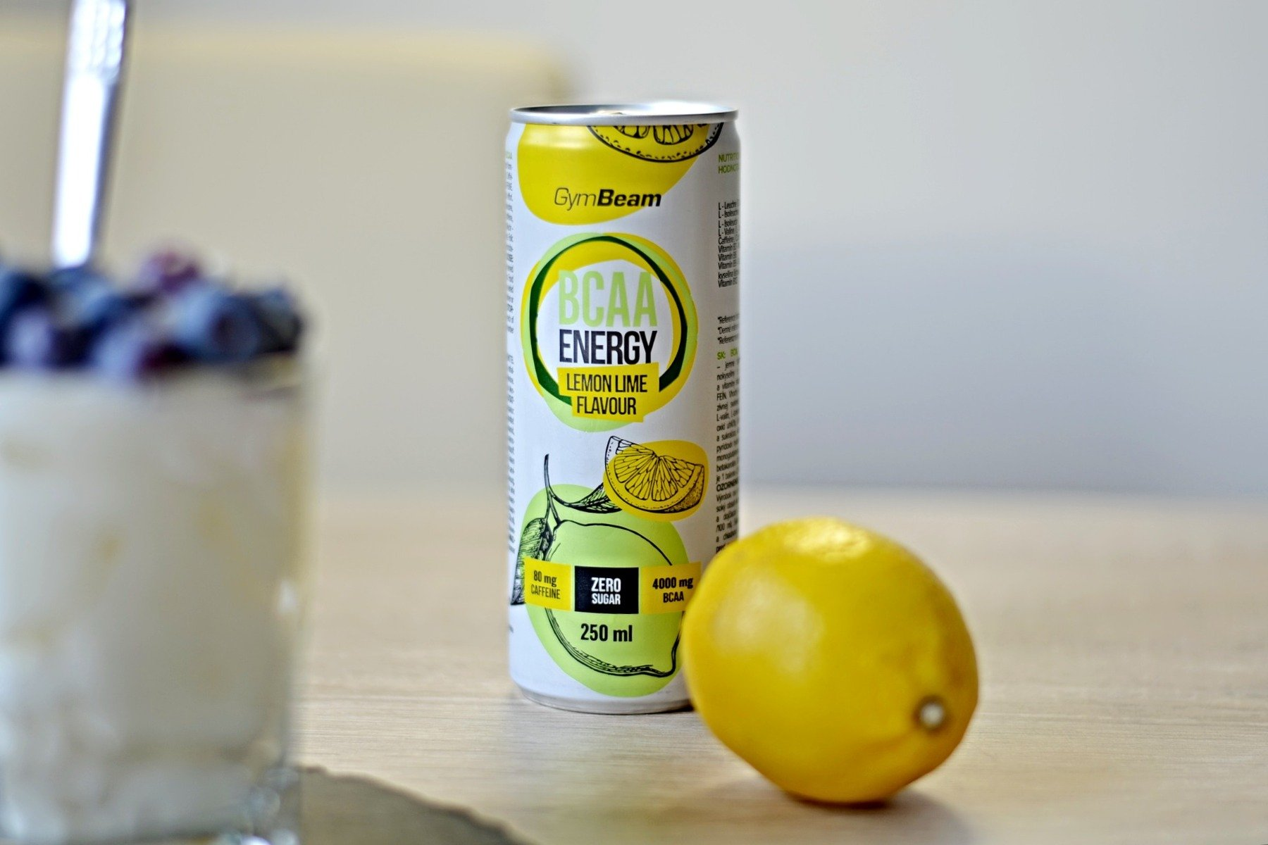 BCAA Energy drink v plechovce GymBeam