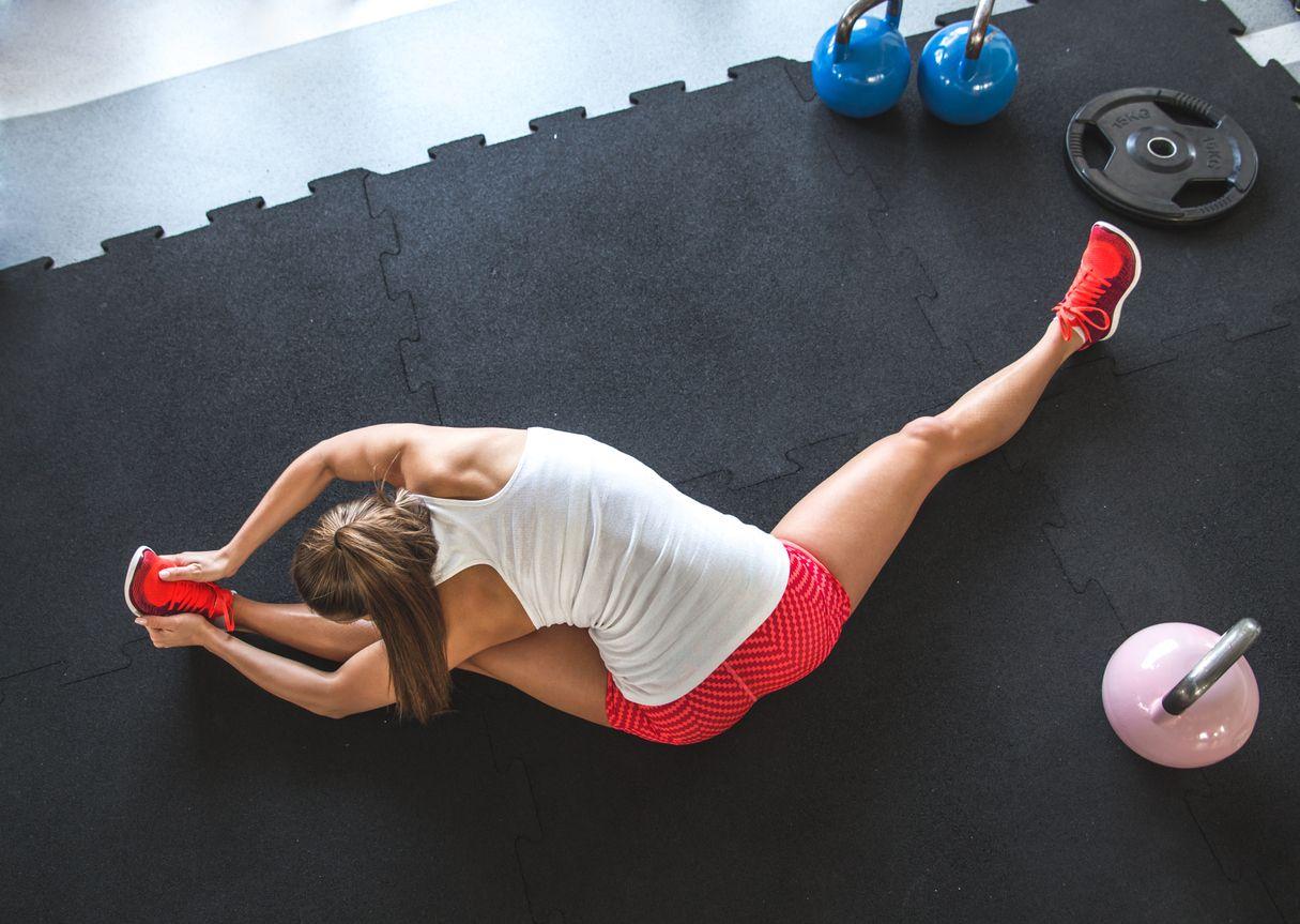 Zagrijani mišići = snažni mišići