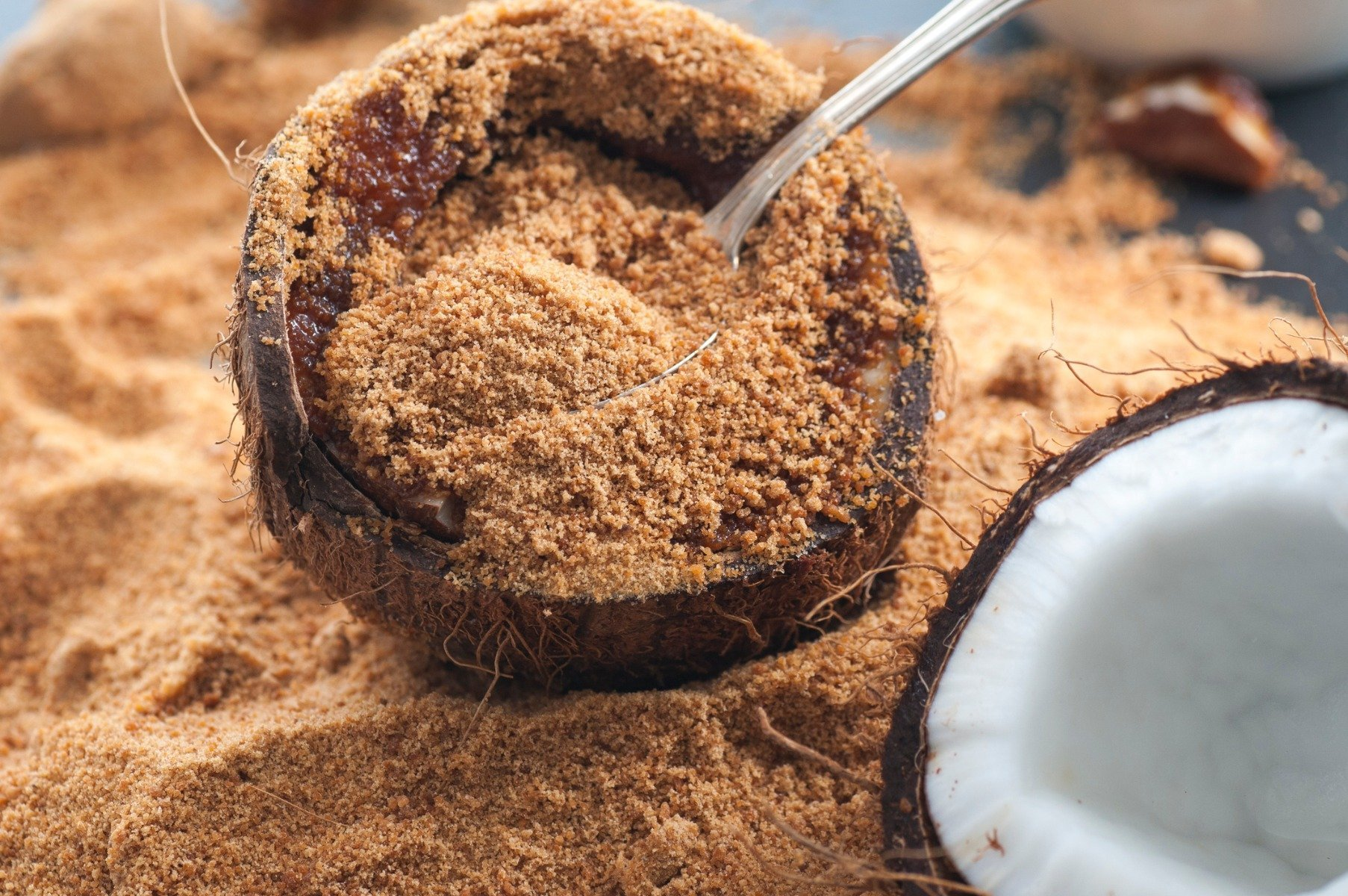 Výhody Bio Coconut Sugar kokosového cukru - GymBeam