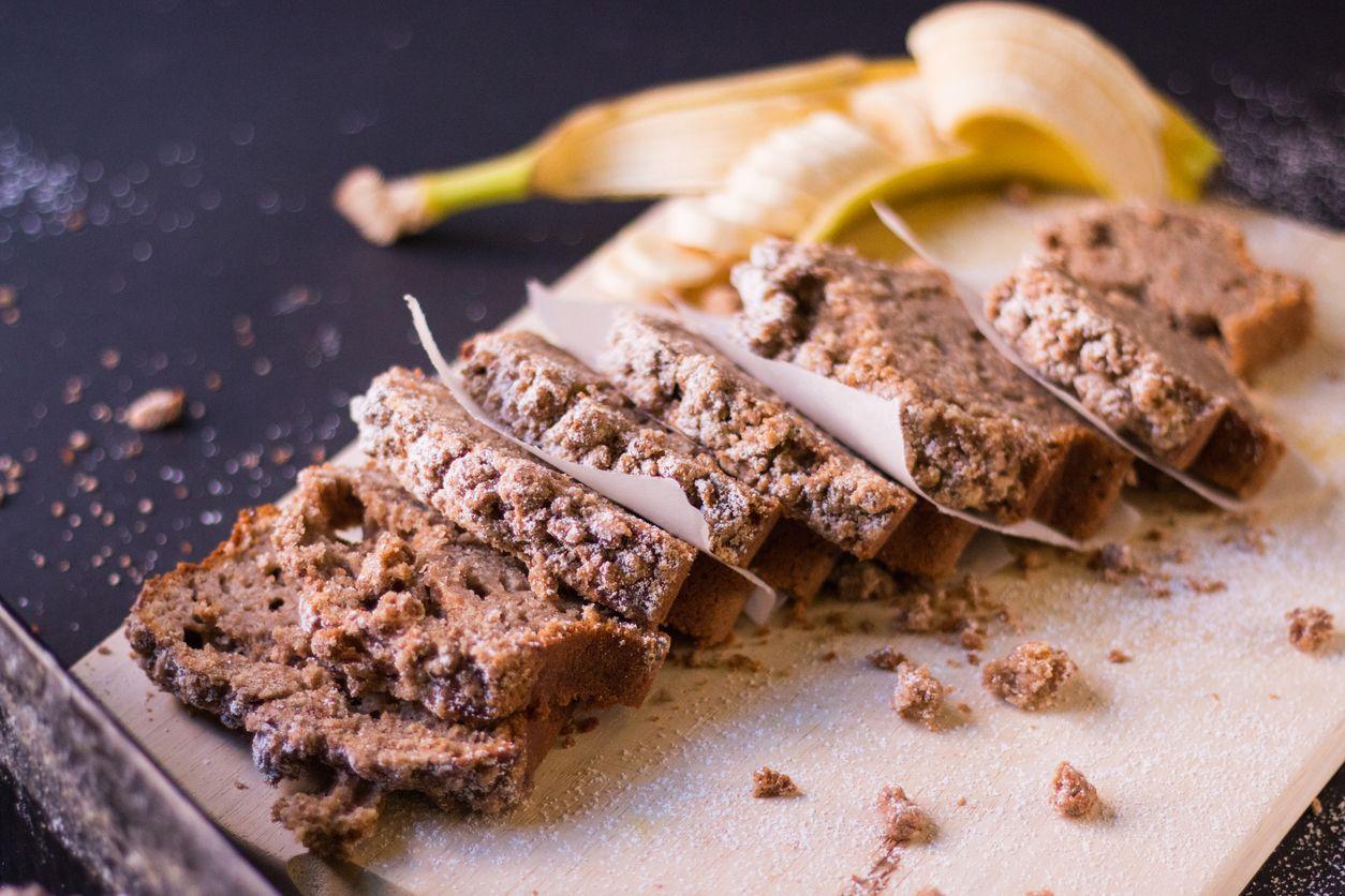 3 recepty na banánový chlieb